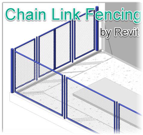 Revit Tricks : การสร้างวัสดุรั้วตาข่าย (Chain Link Fence)