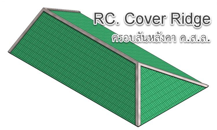Revit Tricks : เทคนิคการสร้างครอบสันหลังคา ค.ส.ล.
