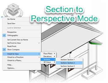 Revit Tricks : เทคนิคการปรับรูปตัดให้เป็นโหมด Perspective