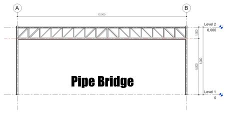 Revit Tricks : เทคนิคการเขียนสะพานรับสายไฟ (Pipe Bridge)